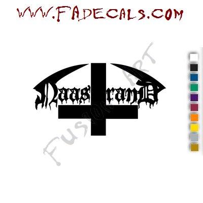 Naastrand Band Music Artist Logo Decal Sticker
