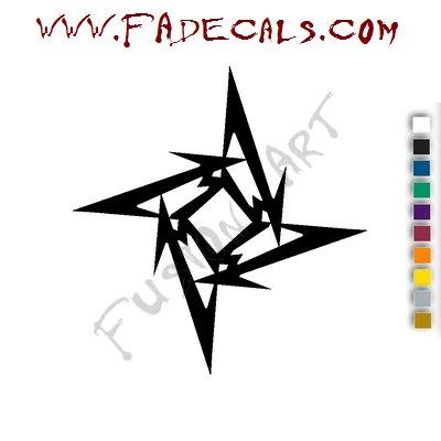 Metallica Band Music Artist Logo Decal Sticker