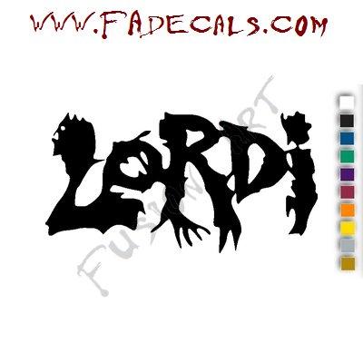 Loridi Band Music Artist Logo Decal Sticker