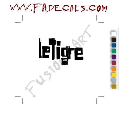 Le Toire Band Music Artist Logo Decal Sticker