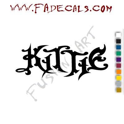 Kittie Band Music Artist Logo Decal Sticker
