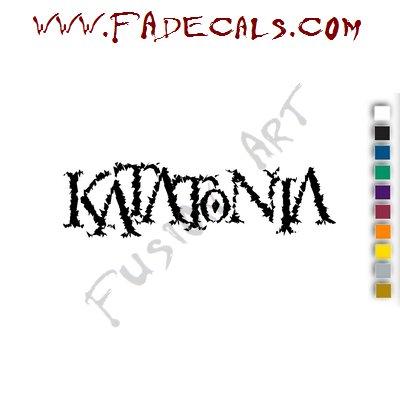 Katatonia Band Music Artist Logo Decal Sticker