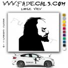 Stanley Kubrick Silhouette Movie Logo Decal Sticker