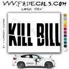 Kill Bill Movie Logo Decal Sticker