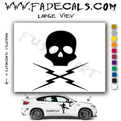 Death Proof 2 Movie Logo Decal Sticker