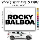 Rocky Balboa Movie Logo (Decal Sticker)