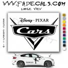 Disney Pixar Cars Movie Logo (Decal Sticker)