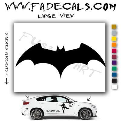 Batman Begins Movie Logo (Decal Sticker)