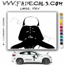 Darth Vader Star Wars Logo Decal Sticker