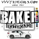 Baker Skateboarding Brand Logo Decal Sticker