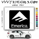 Emerica Skateboarding Brand Logo Decal Sticker