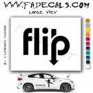 Flip Skateboarding Brand Logo Decal Sticker