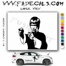 Bruce Lee #2 Movie Logo Decal Sticker