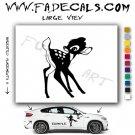Bambi Movie Logo Decal Sticker