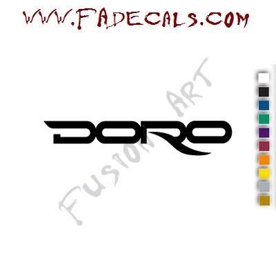 Doro Pesch Band Music Artist Logo Decal Sticker
