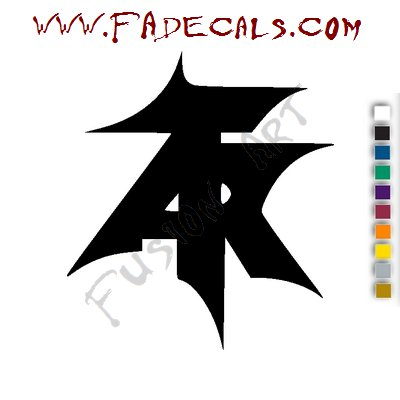 Atari Teenage Riot Band Music Artist Logo Decal Sticker