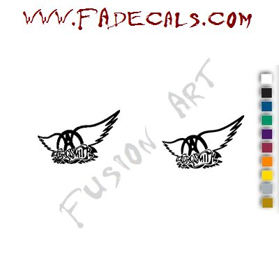 Aerosmith Band Music Artist Logo Decal Sticker