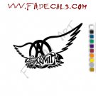 Aerosmith 2 Band Music Artist Logo Decal Sticker