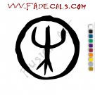 Deep Purple Band Music Artist Logo Decal Sticker