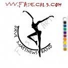 Dave Matthews Band Music Artist Logo Decal Sticker