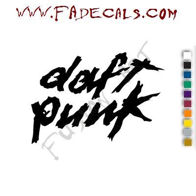 Daft Punk Band Music Artist Logo Decal Sticker