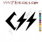 CSS Brazil Band Music Artist Logo Decal Sticker