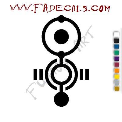 Apoptygma Berzerk Band Music Artist Logo Decal Sticker