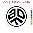 Asian Dub Foundation Band Music Artist Logo Decal Sticker