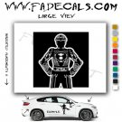Tron Player Movie Logo Decal Sticker