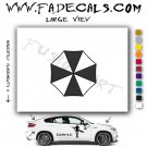 Umbrella Corporation Resident Evil Movie Logo Decal Sticker
