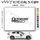 Octopussy James Bond Movie Logo Decal Sticker