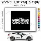 The Manchurian Candidate Movie Logo Decal Sticker