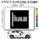 The Italian Job Movie Logo Decal Sticker
