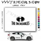 The Incredibles Movie Logo Decal Sticker