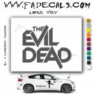 The Evil Dead Movie Logo Decal Sticker