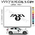 Taxi 3 Movie Logo Decal Sticker