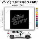 SIN CITY Movie Logo Decal Sticker