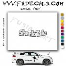 Shark Tale Movie Logo Decal Sticker