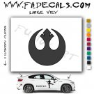 Rebel Alliance Movie Logo Decal Sticker