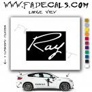 Ray The Movie Logo Decal Sticker