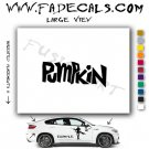 Pumpkin Movie Logo Decal Sticker