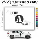 A Team Movie Logo Decal Sticker