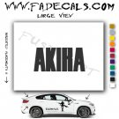 Akira Movie Logo Decal Sticker