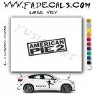 American Pie 2 Movie Logo Decal Sticker
