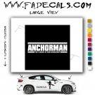 Anchorman Movie Logo Decal Sticker