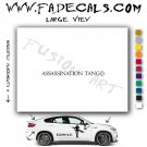 Assassination Tango Movie Logo Decal Sticker
