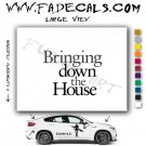 Bringing down the house Movie Logo Decal Sticker