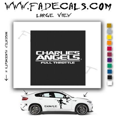 Charlies Angles 2 Movie Logo Decal Sticker