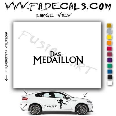 Das Medaillon Movie Logo Decal Sticker