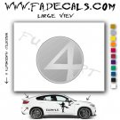 Fantastic Four Movie Logo Decal Sticker
